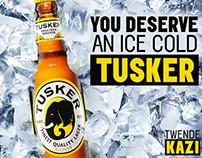 Tusker Lager Social Art October 2015