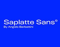Saplatte Sans