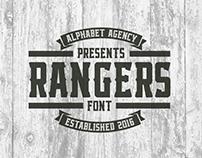 Rangers Font: $1 Intro Price