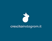Crescitainstagram - Logo Design