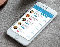 Restaurant app concept