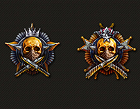 Achievements Icon Design for Plarium games - 2015