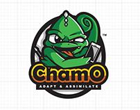 Emblem Logo Design - Chamo Repair V2