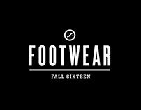 FW 16 ZOOT FOOTWEAR