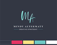 Brand Identity Design for Mindy Altermatt