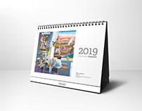Calendarios MAXAM 2019
