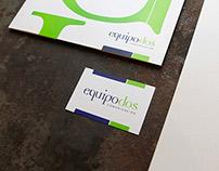 Logotipo e Identidad para Equipodos
