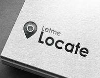 Letmelocate logo Design