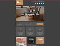 Boxy, eCommerce Email Template + Builder Access