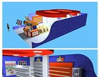 3D booth   super 8