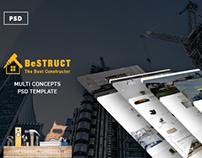 BeStruct - Multiconcept Construction PSD Template
