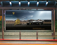 Lamborghini Advertising - Billboard, Brand