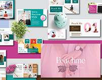 Free Peachme Creative Template