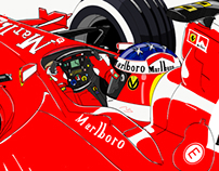 #keepfighting - Michael Schumacher 2000
