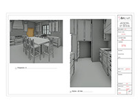 3d Project - Kitchen/ Powder Room/ Mud Room