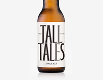 Tall Tales – Logo & Branding for a new Beer brand.