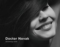 Novak Stomatology website