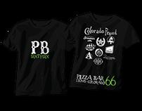 Logo and website design for Pizza Bar 66