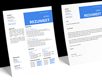 Peckham - FREE Resume template + Cover Letter