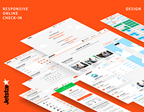 Jetstar — Responsive Online Check-in Design