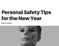Steven Andiloro | Personal Safety Tips for the New Year