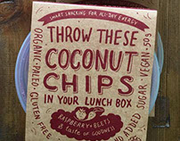 Packaging and style for Coconut Chips (New Zeland)