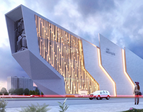 headquarter concept in new Cairo.