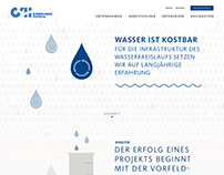 Webdesign for Hamburg Wasser