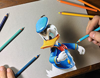 Drawing Donald Duck