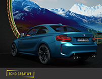 3D Animation/Showcase of the BMW M4 2016