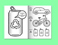 Eco Coloring Book for Kids