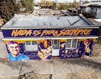 Mural Homenaje a Jorge González