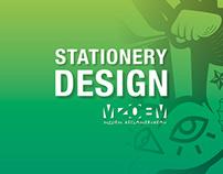STATIONERY DESIGN MZOEM