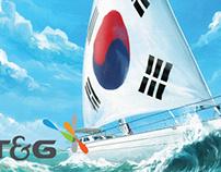 KTNG 마케팅용 일러스트 제작