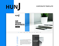 HUNJ - Business Agency Template