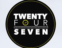TOP Twenty Four Seven Coffee Label