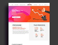 Website mock option 2