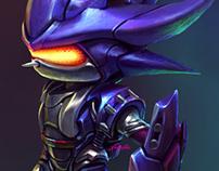 [Fanart] Mecha Sonic