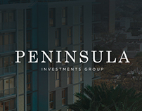 Península Investments web redesign