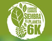 Carrera/Caminata Siembra el planeta (Edición I y II)
