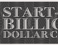 Start-Up Billion Dollar Club Infographic.