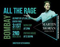 Martin Moran India Tour