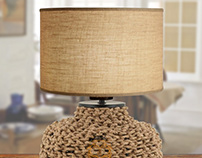 Linked Rope Lamp