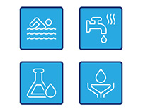 Aqualogic Water Treatment Website Icons