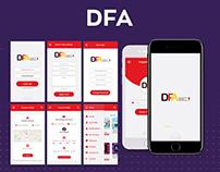 DFA App Design