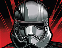 Captain Phasma Illustration