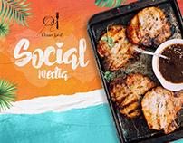Social Media - Ocean grill