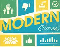 Modern Times Lettering & Illustration for Benefits Pro