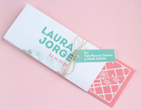 L&J Wedding Invitation
