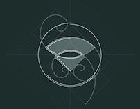 AUREACT — logo animation / motion graphic